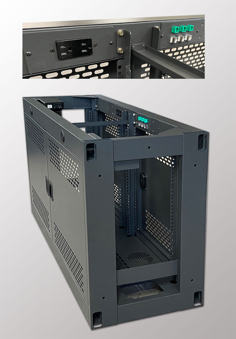 Tempest Segregated Cable Management Console