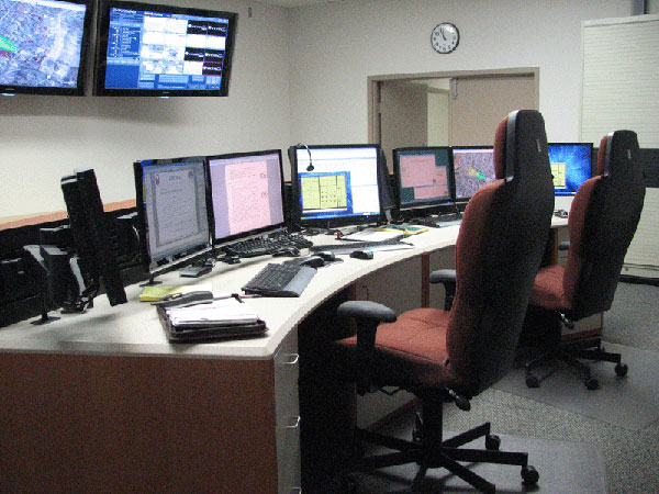 Omni control center consoles have universal use in many environments